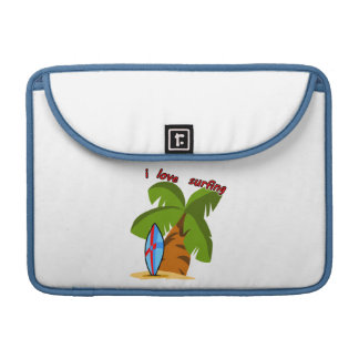 Surf Board MacBook Sleeve MacBook Pro Sleeve