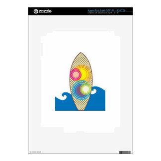 Surf Board iPad 3 Skins