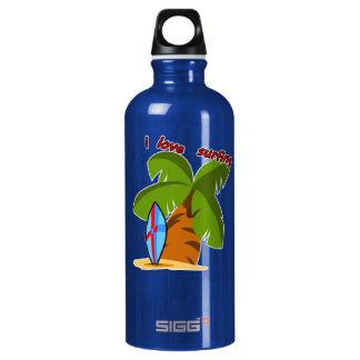 Surf Board Water Bottle