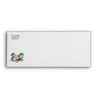 Surf boarder envelopes