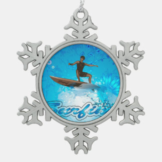 Surf Boarder Ornaments