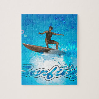 Surf Boarder Jigsaw Puzzles