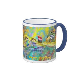 Surf Buddies Coffee Mug
