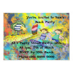 Surf Buddies Invitation