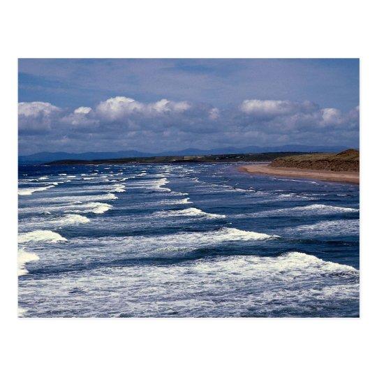Surf, Bundoran Donegal, Ireland Postcard