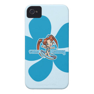 Surf Bunny Surfer Girl iPhone 4 Casemate iPhone 4 Covers