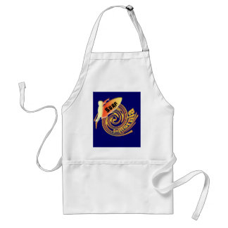 Surf California Californian surfers surfing gifts Adult Apron