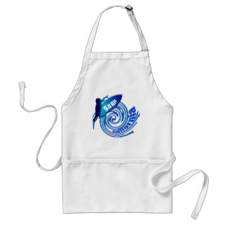 Surf California Californian surfers surfing gifts Apron
