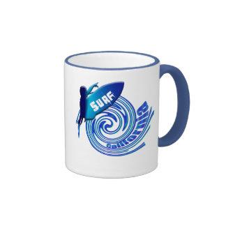 Surf California Californian surfers surfing gifts Coffee Mug
