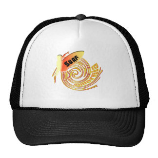 Surf California Californian surfers surfing gifts Trucker Hat