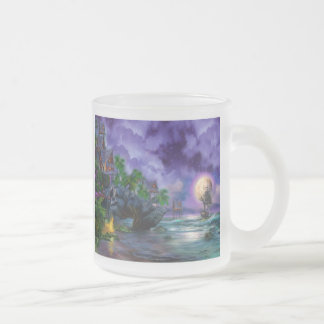 Surf Camp Paradise Frosted Glass Coffee Mug