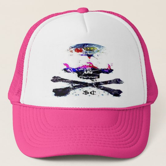 surf capone suicide king trucker hat