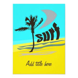 Surf - Card Invitation