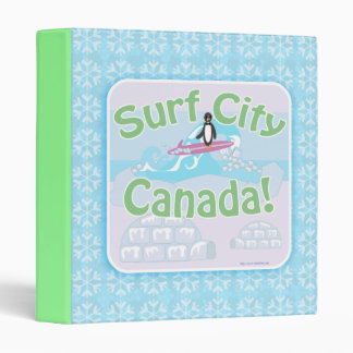 Surf City Canada 2 3 Ring Binder