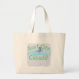 Surf City Canada Canvas Bags