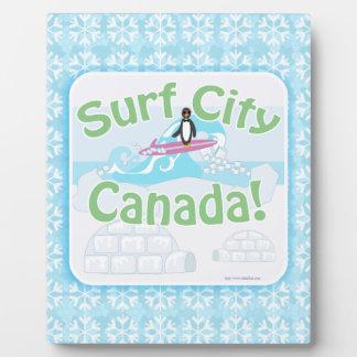 Surf City Canada So Cold Plaque
