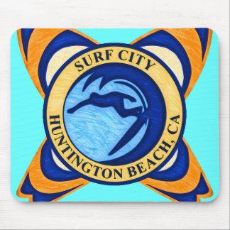 Surf City, Huntington Beach, CA Mouse Pad