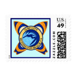 Surf City, Huntington Beach, CA Postage Stamp