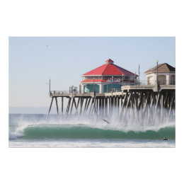 Surf City  Huntington Beach Ca Poster