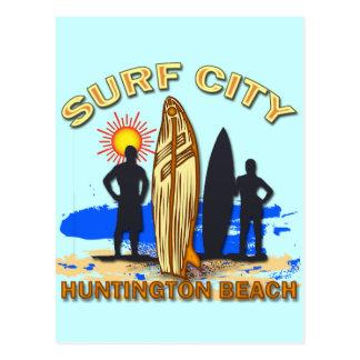 SURF CITY HUNTINGTON BEACH POSTCARD