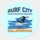 SURF CITY HUNTINGTON BEACH STICKERS
