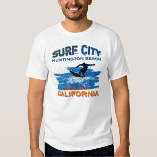 SURF CITY HUNTINGTON BEACH T SHIRT