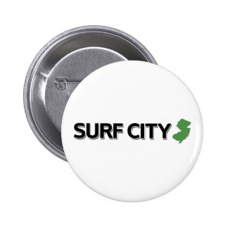 Surf City New Jersey Pin