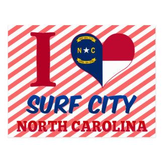 Surf City, North Carolina Postcard