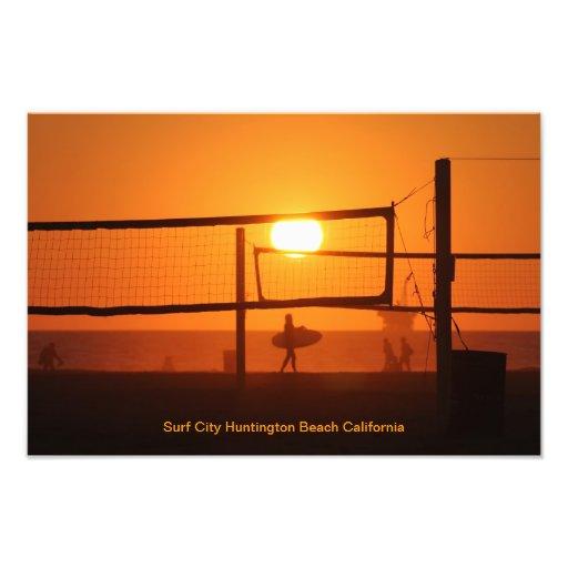 Surf City Photo Print