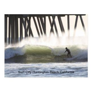 Surf City Postcard
