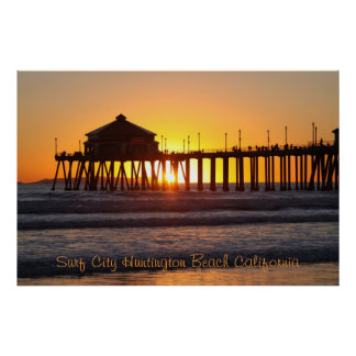 Surf City Poster