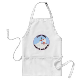 Surf City San Francisco Adult Apron