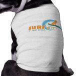 Surf City Surf Dog - Dog Apparel Tee