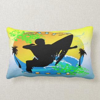 "Surf Club - Surfer 13""x21""American MoJo Lumbar Pil Lumbar Pillow"