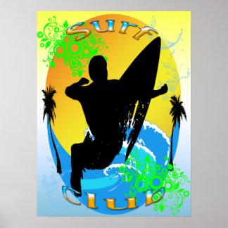 Surf Club - Surfer 18 x24 Poster