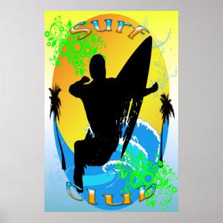 Surf Club - Surfer 24 x36 Poster