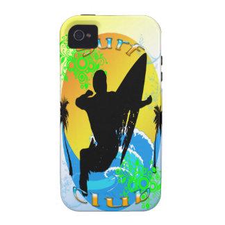Surf Club - Surfer 4G Case-Mate Tough™ Case iPhone 4/4S Cases