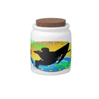 Surf Club - Surfer Candy Jar
