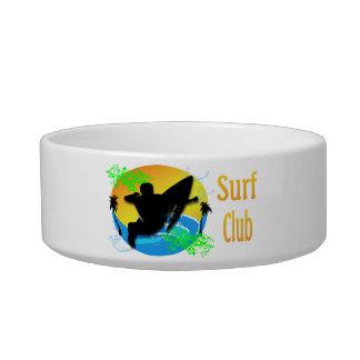 Surf Club - Surfer Cat Pet Bowl