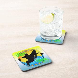 Surf Club - Surfer Cork Coaster Set