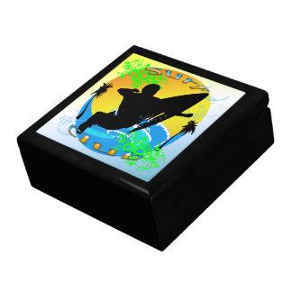 Surf Club - Surfer Gift Box/Trinket Box