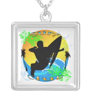 Surf Club - Surfer Necklace
