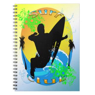 Surf Club - Surfer Notebook