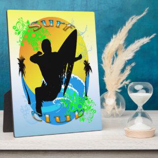 Surf Club - Surfer Plaque
