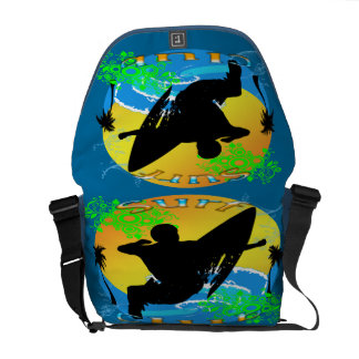 Surf Club - Surfer Rickshaw Messenger Bag