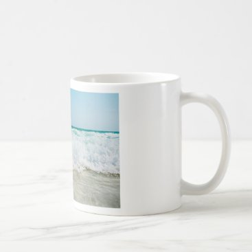 Beach Themed surf coffee mug