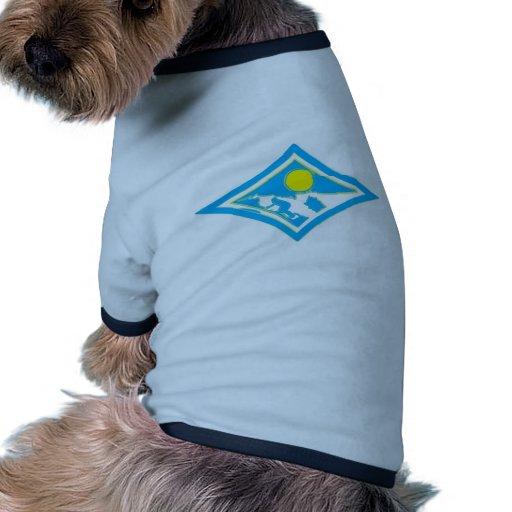 Surf Diamond Brushed Doggie Tshirt