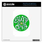 surf diva.jpg iPod touch 4G calcomanía