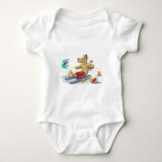 sUrF DoG Baby Bodysuit