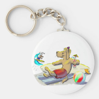 sUrF DoG Keychain